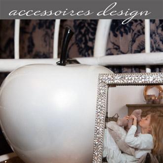 Les accessoires design proposés par Rose Citron, magasin à Leucate