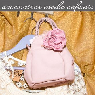 Les accessoires de mode enfants proposés par Rose Citron, magasin à Leucate
