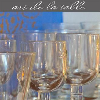 Les arts de la table proposés par Rose Citron, magasin à Leucate