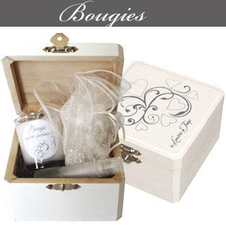 Bougies parfumes et coffrets proposés par Rose Citron à Leucate