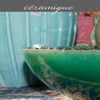Les céramiques proposées par Rose Citron, magasin à Leucate