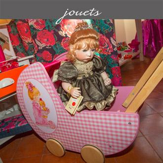 Les jouets proposés par Rose Citron, magasin à Leucate