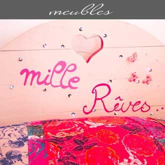 Les meubles proposés par Rose Citron, magasin à Leucate