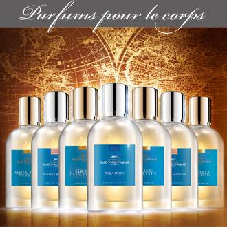 Parfums pour le corps proposés par Rose Citron à Leucate