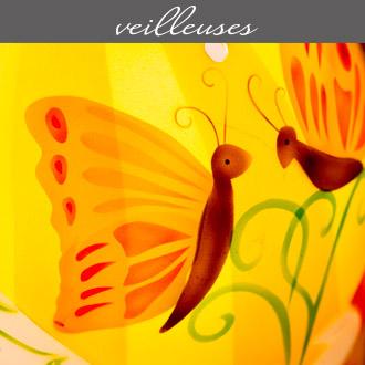 Les veilleuses pour enfants proposées par Rose Citron, magasin à Leucate
