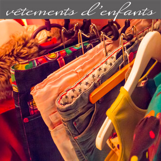 Les vêtements d'enfants proposés par Rose Citron, magasin à Leucate