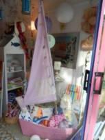 création Rose citron, meuble de rangement voilier pour chambre enfant. ©2013 Rose Citron