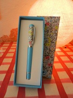 stylo bille Letterbox.fév 2016