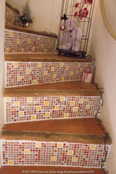 escalier relooké par Rose Citron