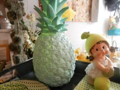 lampe ananas mint.Rose Citron 2016