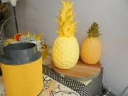 lampe ananas à led jaune.Rose Citron 2016