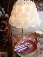 lampe fleur Muno. Rose Citron 2016