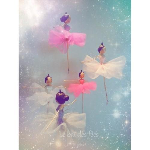 fées danseuses en tulle.Noël 2016