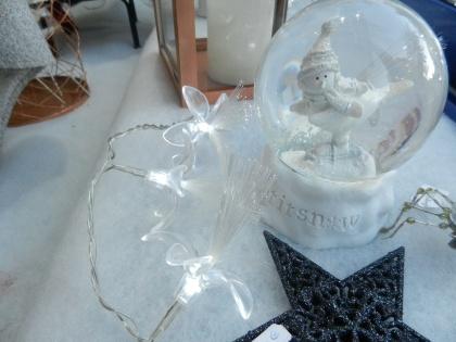 boule enneigée de Noël