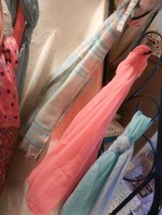 harmonie de foulards.Rose Citron 2017