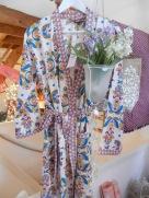 Kimono Fiancée du Mékong. Rose Citron 2017