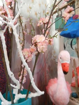 la saison des cerisiers en fleurs.Rose citron 2017