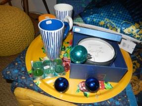 tout pour le cocooning,plateau, thé, bougie, mug