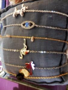 bracelets fins inox