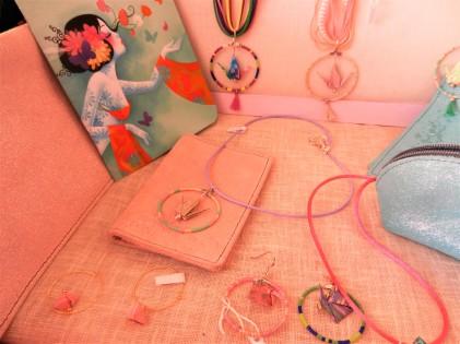 bijoux en origami et carnets