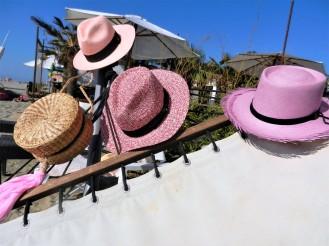 déclinaison de panamas roses.Rose Citron 2018