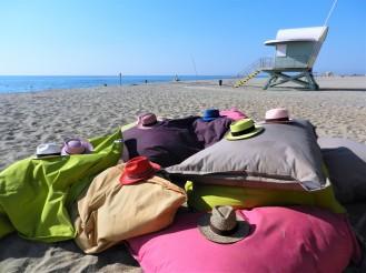 des panamas chez Ginette plage
